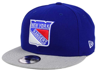 New York Rangers New Era NHL Heather Vize 9FIFTY Snapback Cap