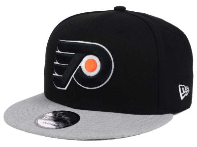 Philadelphia Flyers New Era NHL Heather Vize 9FIFTY Snapback Cap