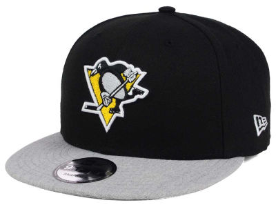 Pittsburgh Penguins New Era NHL Heather Vize 9FIFTY Snapback Cap