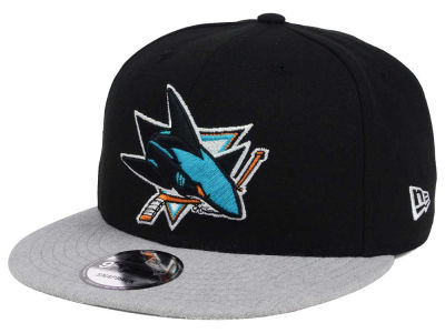 San Jose Sharks New Era NHL Heather Vize 9FIFTY Snapback Cap