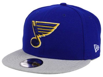 St. Louis Blues New Era NHL Heather Vize 9FIFTY Snapback Cap