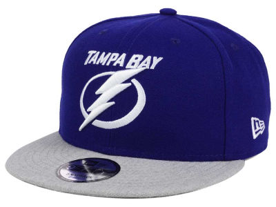 Tampa Bay Lightning New Era NHL Heather Vize 9FIFTY Snapback Cap
