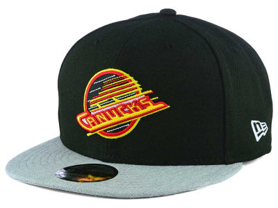 Vancouver Canucks New Era NHL Heather Vize 9FIFTY Snapback Cap