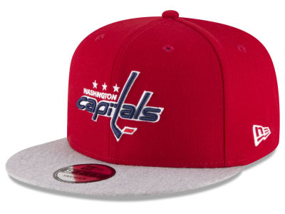 Washington Capitals New Era NHL Heather Vize 9FIFTY Snapback Cap