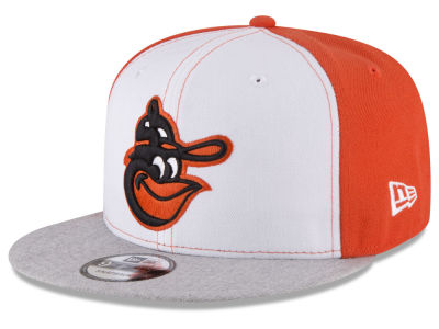 Baltimore Orioles New Era MLB Heather VIze 9FIFTY Snapback Cap
