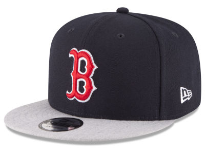 Boston Red Sox New Era MLB Heather VIze 9FIFTY Snapback Cap