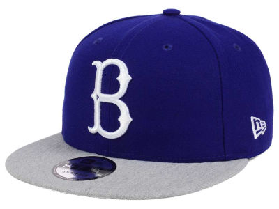 Brooklyn Dodgers New Era MLB Heather VIze 9FIFTY Snapback Cap