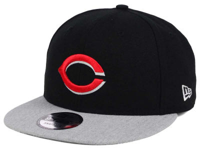 Cincinnati Reds New Era MLB Heather VIze 9FIFTY Snapback Cap