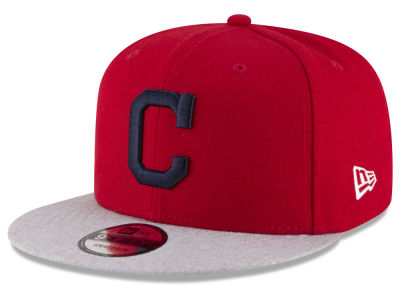 Cleveland Indians New Era MLB Heather VIze 9FIFTY Snapback Cap