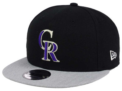 Colorado Rockies New Era MLB Heather VIze 9FIFTY Snapback Cap