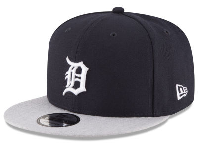 Detroit Tigers New Era MLB Heather VIze 9FIFTY Snapback Cap