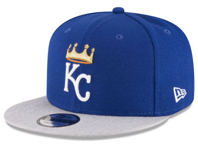 Kansas City Royals New Era MLB Heather VIze 9FIFTY Snapback Cap