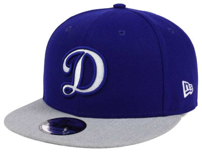 Los Angeles Dodgers New Era MLB Heather VIze 9FIFTY Snapback Cap