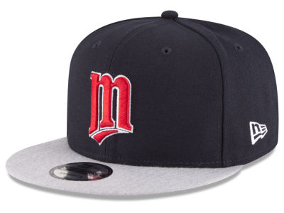Minnesota Twins New Era MLB Heather VIze 9FIFTY Snapback Cap