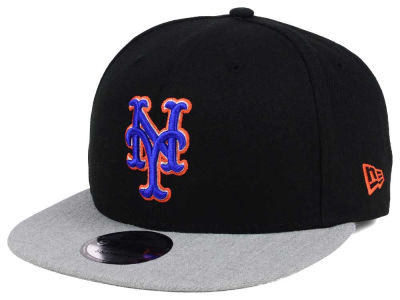 New York Mets New Era MLB Heather VIze 9FIFTY Snapback Cap