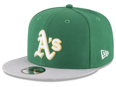 Oakland Athletics New Era MLB Heather VIze 9FIFTY Snapback Cap