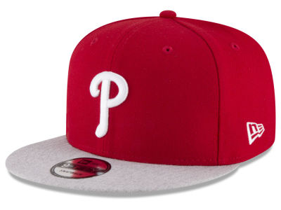 Philadelphia Phillies New Era MLB Heather VIze 9FIFTY Snapback Cap