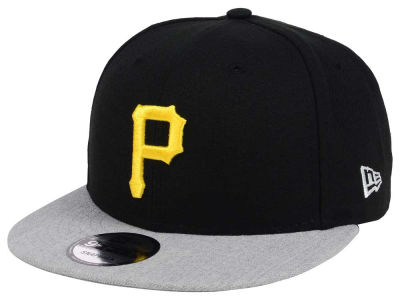Pittsburgh Pirates New Era MLB Heather VIze 9FIFTY Snapback Cap