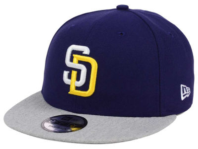 San Diego Padres New Era MLB Heather VIze 9FIFTY Snapback Cap