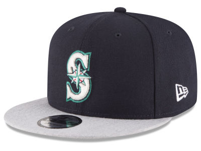 Seattle Mariners New Era MLB Heather VIze 9FIFTY Snapback Cap