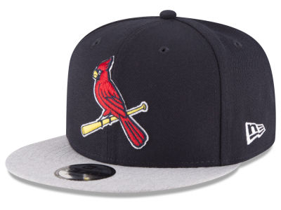 St. Louis Cardinals New Era MLB Heather VIze 9FIFTY Snapback Cap