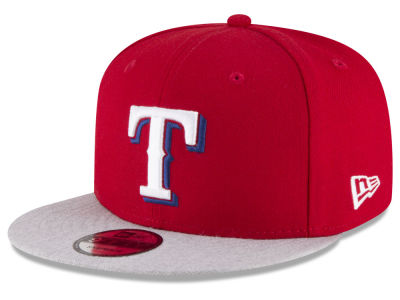 Texas Rangers New Era MLB Heather VIze 9FIFTY Snapback Cap