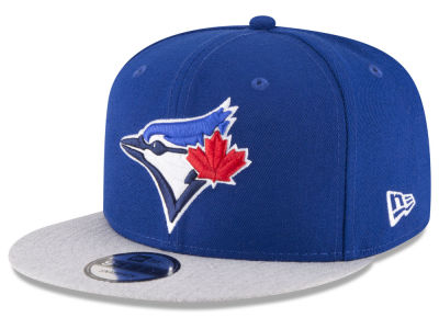 Toronto Blue Jays New Era MLB Heather VIze 9FIFTY Snapback Cap