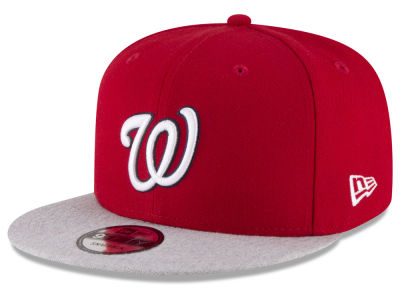 Washington Nationals New Era MLB Heather VIze 9FIFTY Snapback Cap