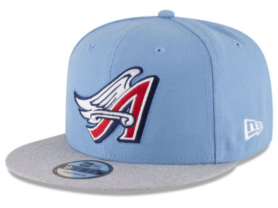 Los Angeles Angels New Era MLB Heather VIze 9FIFTY Snapback Cap