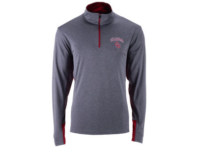 Oklahoma Sooners Colosseum NCAA Men's Ridge Runner 1/4 Zip Pullover