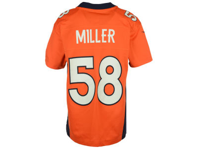 Denver Broncos Von Miller NFL Youth Game Jersey