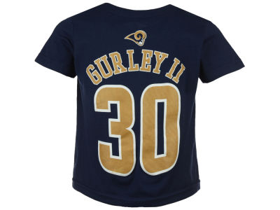Los Angeles Rams Todd Gurley Outerstuff NFL Toddler Mainliner Player T-Shirt