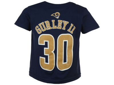 Los Angeles Rams Todd Gurley Outerstuff NFL Kids Mainliner Player T-Shirt