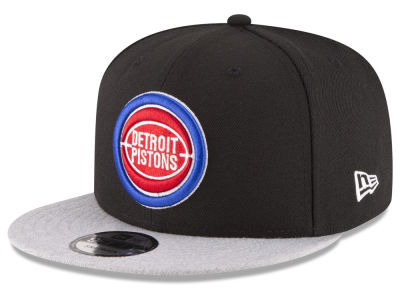 Detroit Pistons New Era NBA HWC Heather Vize 9FIFTY Snapback Cap