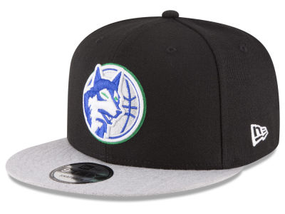 Minnesota Timberwolves New Era NBA HWC Heather Vize 9FIFTY Snapback Cap