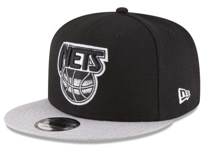 New Jersey Nets New Era NBA HWC Heather Vize 9FIFTY Snapback Cap
