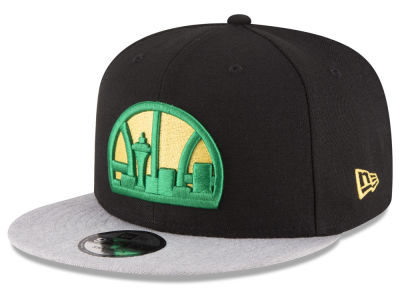 Seattle SuperSonics New Era NBA HWC Heather Vize 9FIFTY Snapback Cap