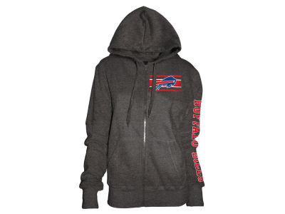 Buffalo Bills 5th & Ocean NFL Women's Backfield Hooded Sweatshirt