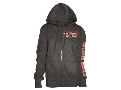 Cincinnati Bengals 5th & Ocean NFL Women's Backfield Hooded Sweatshirt