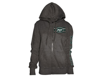 New York Jets 5th & Ocean NFL Women's Backfield Hooded Sweatshirt