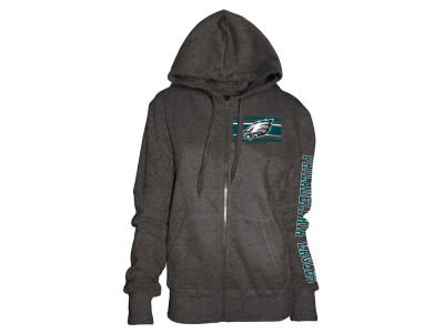 Philadelphia Eagles 5th & Ocean NFL Women's Backfield Hooded Sweatshirt