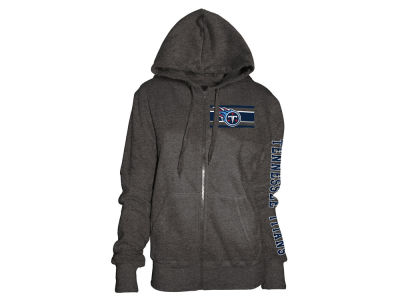 Tennessee Titans 5th & Ocean NFL Women's Backfield Hooded Sweatshirt