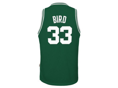 Boston Celtics Larry Bird NBA Youth Retired Player Swingman Jersey