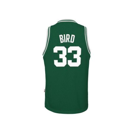 Boston Celtics Larry Bird NBA Youth Retired Player Swingman Jersey
