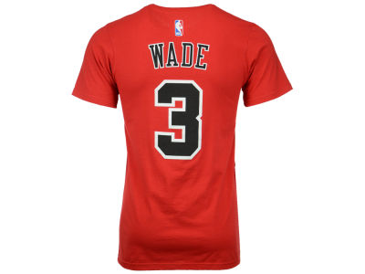 Chicago Bulls Dwyane Wade adidas NBA Men's Player T-Shirt