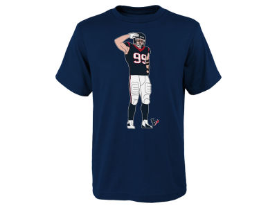 Houston Texans J. J. Watt NFL Youth Celebration Pose T-Shirt