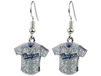 Los Angeles Dodgers Glitter Jersey Earrings