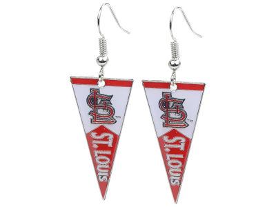 St. Louis Cardinals Pennant Dangle Earrings