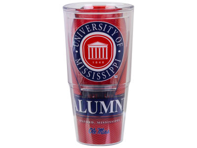 Ole Miss Rebels 24oz Alumni Wrap Tumbler