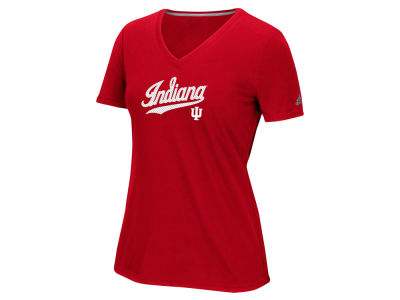 Indiana Hoosiers NCAA Women's Lined Logo T-Shirt